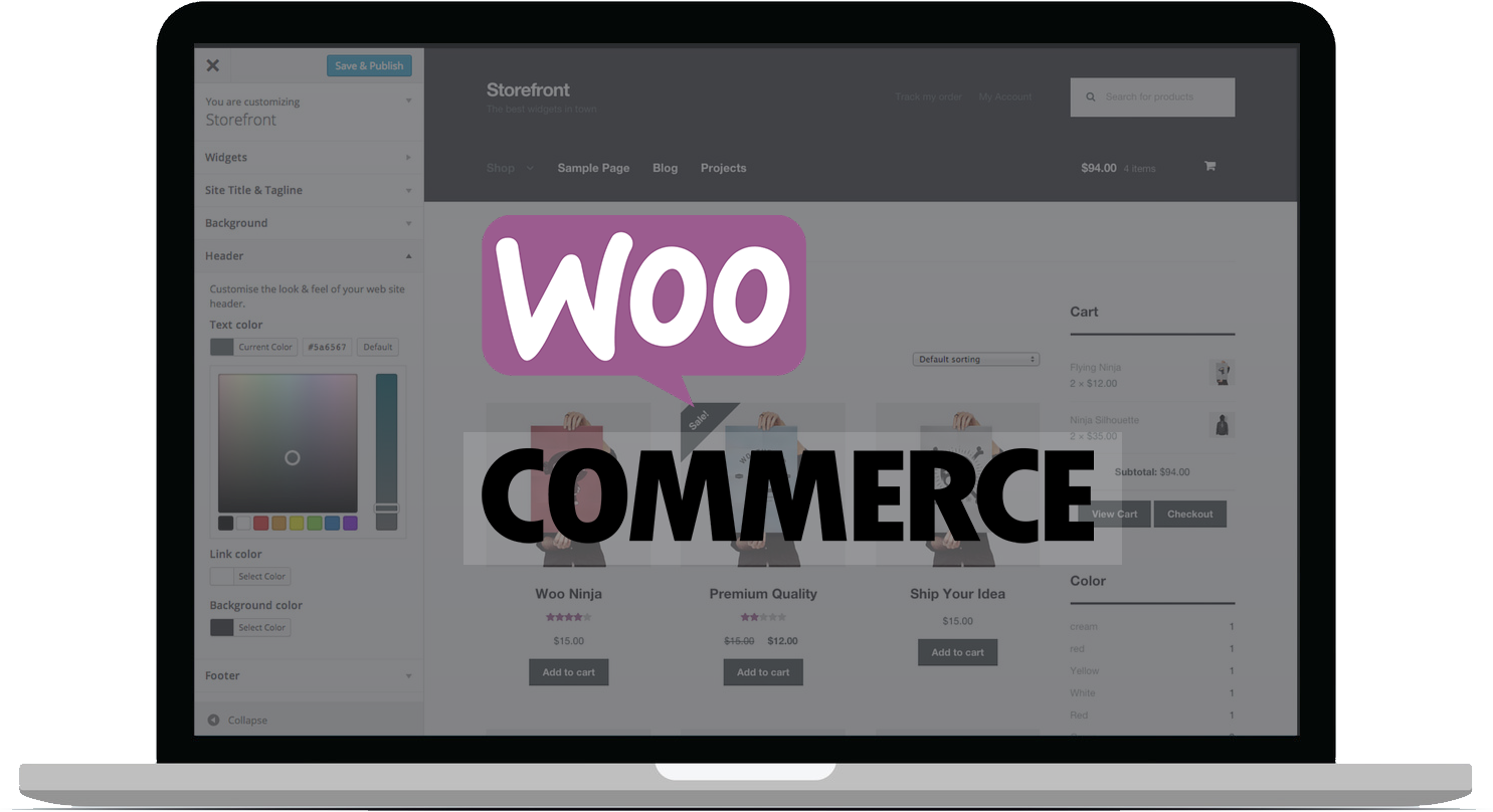 woocommerce Ecommerce development cyberdude networks